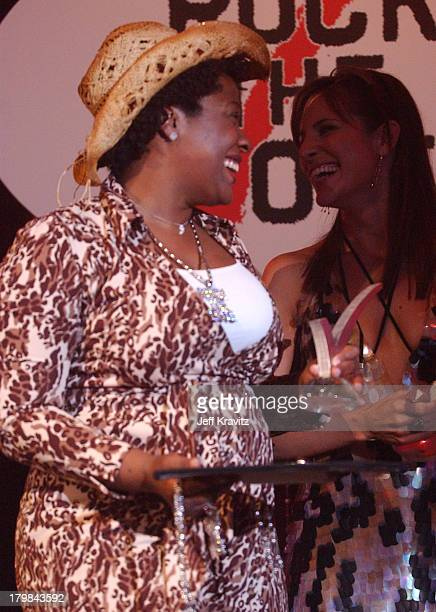 Jehmu Greene President of Rock The Vote during The 11th Annual Rock the Vote Awards Show and After Party at The Palladium in Hollywood California...