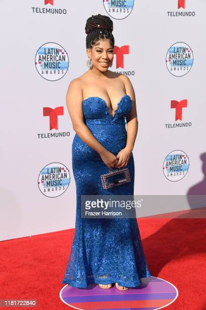 Jeidimar attends the 2019 Latin American Music Awards at Dolby Theatre on October 17 2019 in Hollywood California