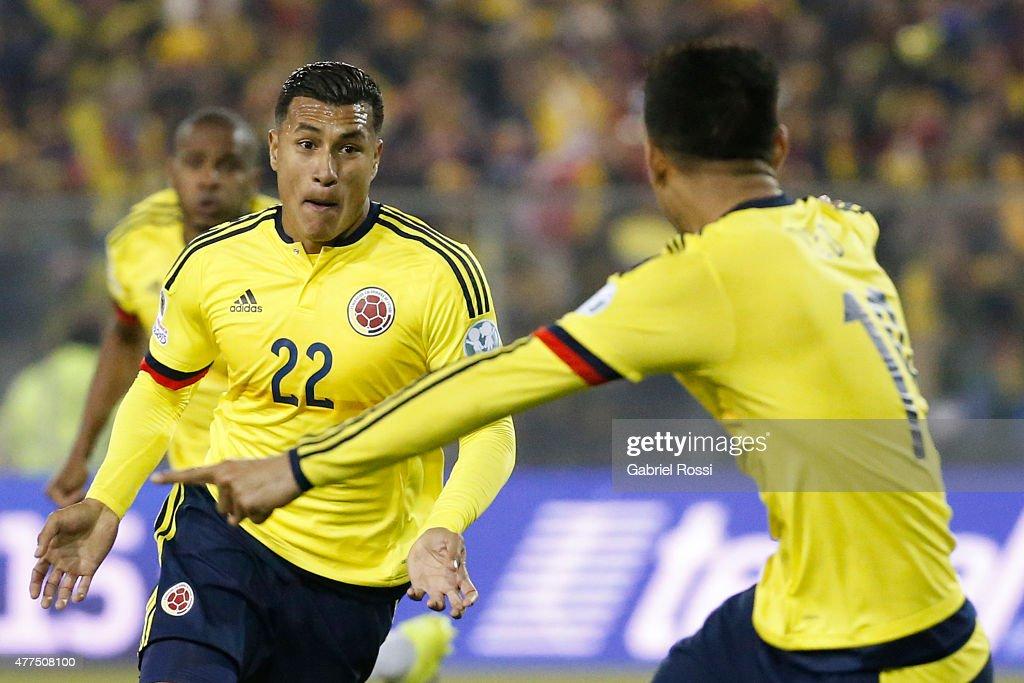 Brazil v Colombia: Group C - 2015 Copa America Chile : News Photo