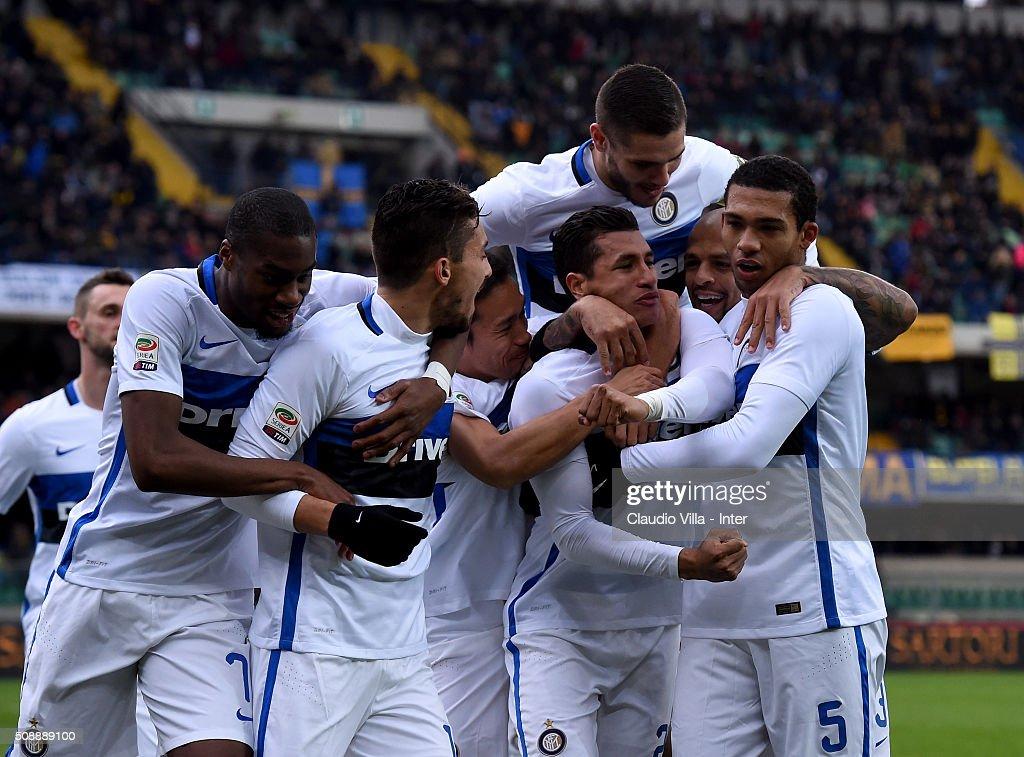Hellas Verona FC v FC Internazionale Milano - Serie A : News Photo