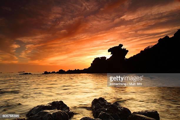 Jeju Island Sunrise yongduam