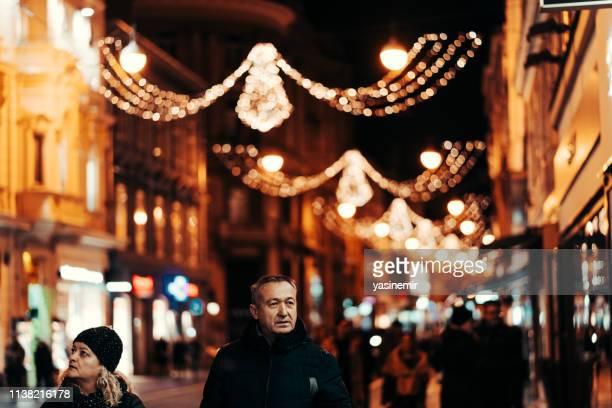 jelacic square in zagreb. zagreb at night - zagreb stock pictures, royalty-free photos & images