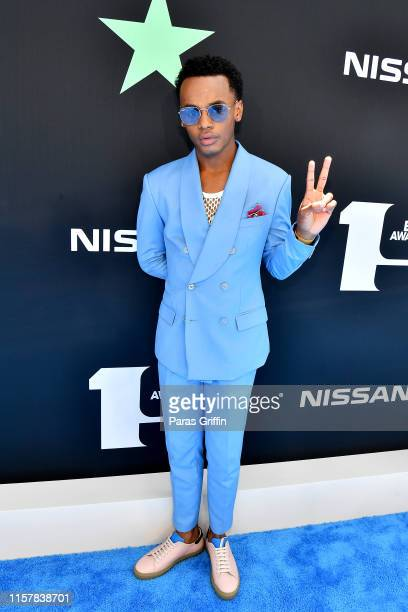 Jelani Winston attends the 2019 BET Awards at Microsoft Theater on June 23 2019 in Los Angeles California