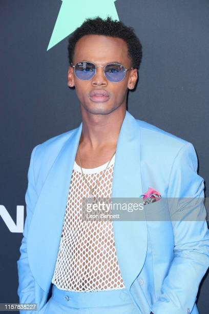 Jelani Winston attends the 2019 BET Awards on June 23 2019 in Los Angeles California