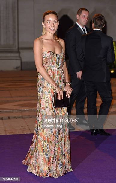 Jelena Djokovic attends the Wimbledon Champions Dinner at The Guildhall on July 12 2015 in London England