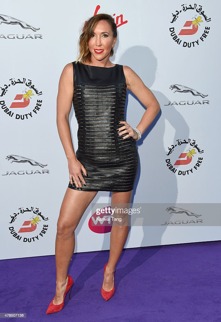 Jelena Jankovic attends the WTA Pre-Wimbledon Party at Kensington Roof Gardens on June 25, 2015 in London, England.