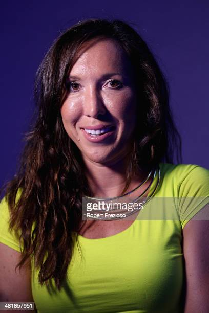 Jelena Jankovic of Serbia arrives at the 2014 Australian Open player party at The Spice Markets on January 10 2014 in Melbourne Australia