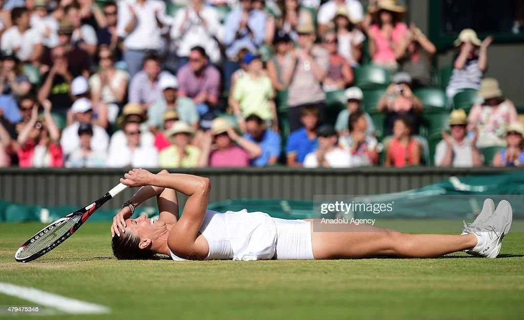 Wimbledon Lawn Tennis Championships - Day Six : News Photo