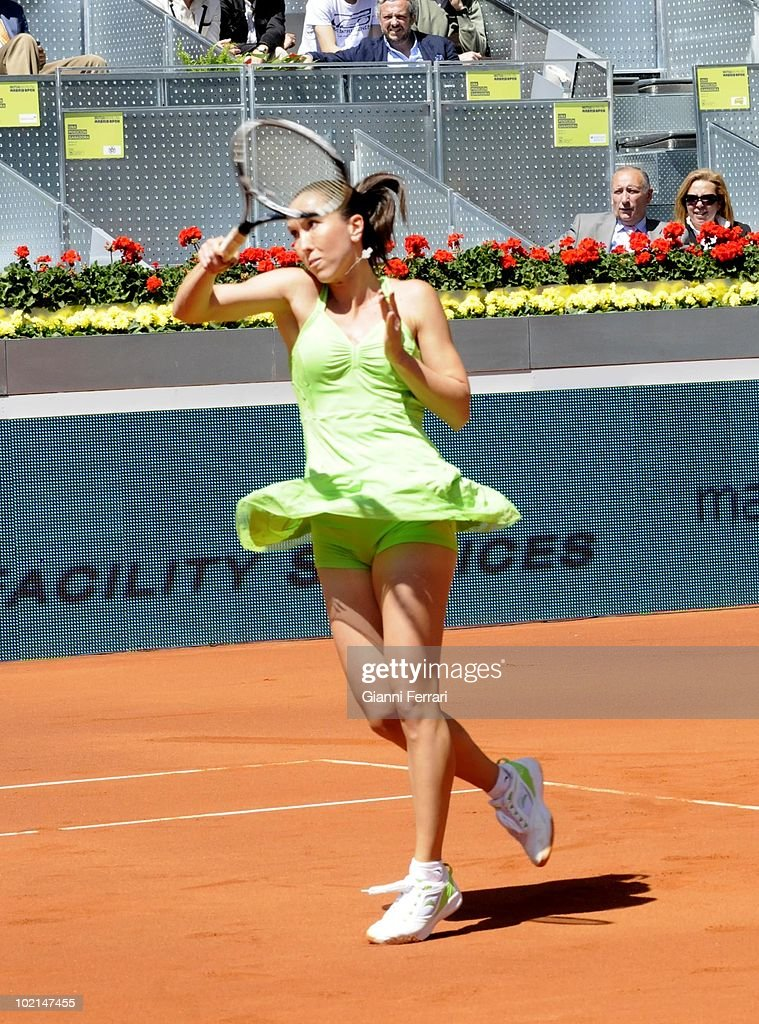 Jelena Jankovic, RUS, tennis in 'Mutua Madrilena Madrid Open' , 8th May 2010, in 'La Caja Magica'. Madrid, Spain.