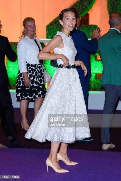Jelena Ðokovic attends the Wimbledon Champions Dinner at The Guildhall on July 15 2018 in London England