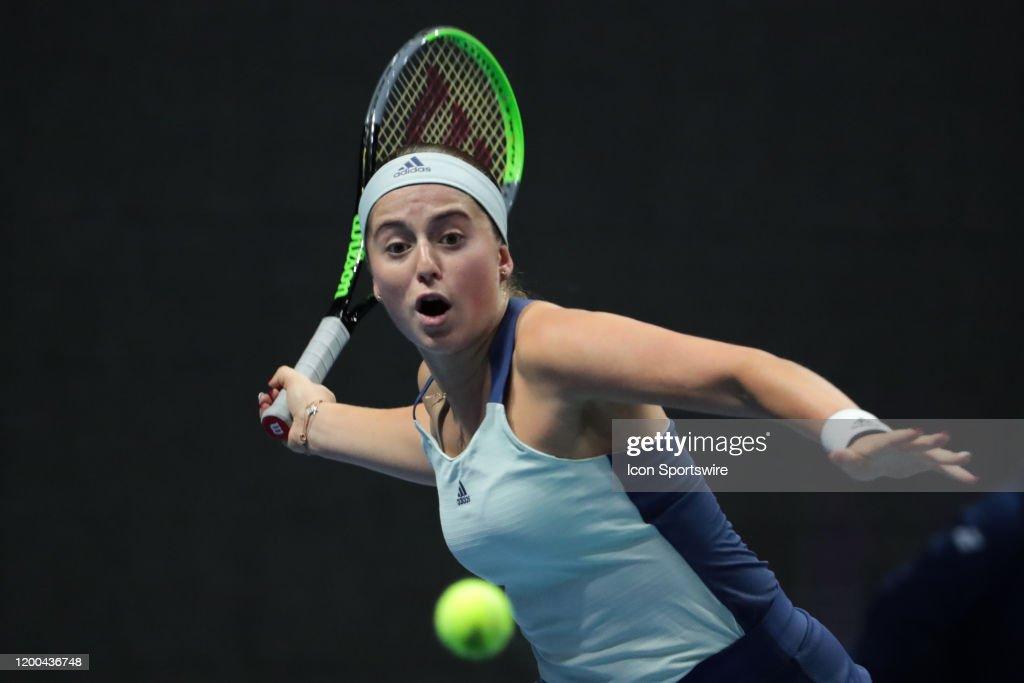 TENNIS: FEB 12 St. Petersburg Ladies Trophy : News Photo