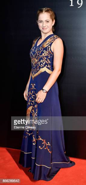 Jelena Ostapenko of Latvia attends the 2017 China Open Player Party at Beijing Olympic Tower on October 1, 2017 in Beijing, China.