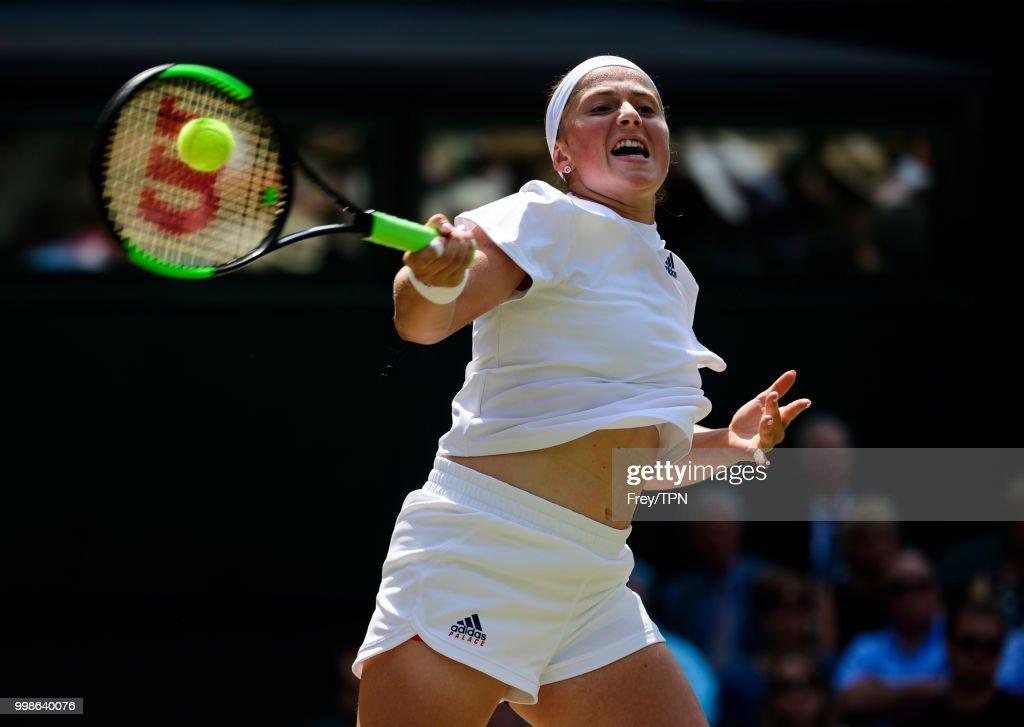 Day Ten: The Championships - Wimbledon 2018 : News Photo