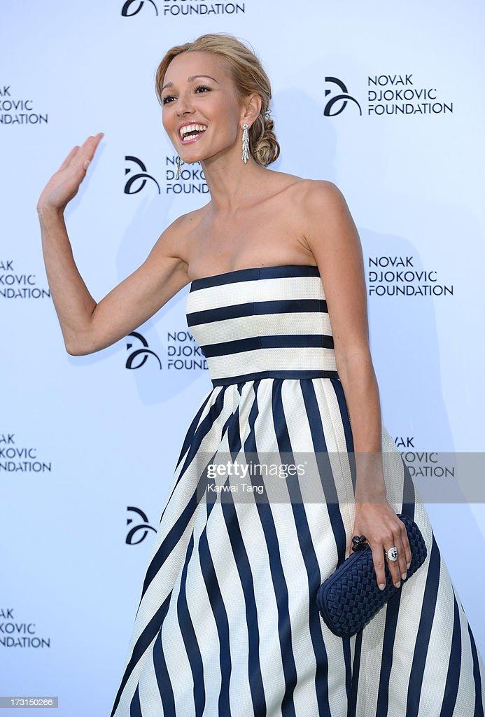 Novak Djokovic Foundation - London Gala Dinner - Red Carpet Arrivals : News Photo