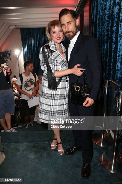 "Jella Haase and Clemens Schick during the ""Kidnapping Stella"" Netflix premiere at Munich Film Festival 2019 at Astor Filmlounge/Arri Kino on June 29,..."