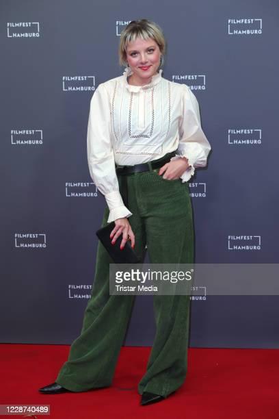 Jella Haase attends the Bis wir tot sind oder frei during Hamburg film festival on September 26, 2020 in Hamburg, Germany.