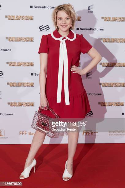 "Jella Haase attends the Family & Friends screening of ""Goldfische"" at UCI LUXE on March 18, 2019 in Berlin, Germany."