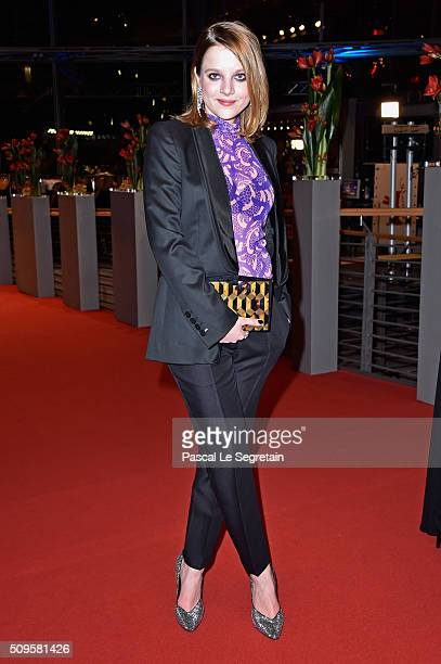 Jella Haase attends the 'Hail, Caesar!' premiere during the 66th Berlinale International Film Festival Berlin at Berlinale Palace on February 11,...