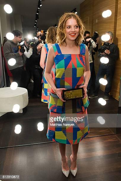 Jella Haase attends the Kilian Kerner store opening on February 25 2016 in Berlin Germany