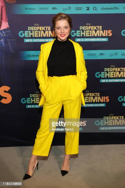 "Jella Haase attends the premiere of ""Das perfekte Geheimnis"" at Astor Filmlounge on October 29, 2019 in Hamburg, Germany."