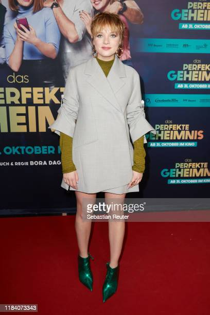 Jella Haase attends the premiere of Das perfekte Geheimnis on October 28 2019 in Berlin Germany