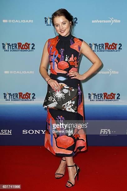 Jella Haase attends the Ritter Rost 2 Das Schrottkomplott Premiere at Mathaeser Filmpalast on January 15 2017 in Munich Germany