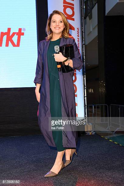 Jella Haase during the 'Fack ju Goehte' Autograph Session In Berlin on February 26 2016 in Berlin Germany