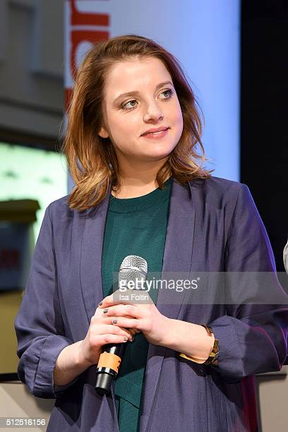 Jella Haase during the 'Fack ju Goehte' Autograph Session on February 26 2016 in Berlin Germany