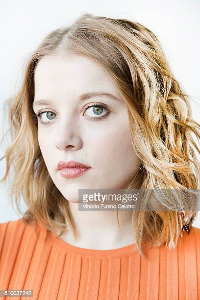 Jella Haase poses for the Shooting Stars 2016 portrait session in cooperation with L'Oreal during the 66th Berlinale International Film Festival...