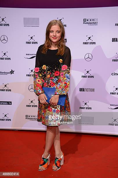 Jella Haaseattends the First Steps Award 2014 at Stage Theater on September 15, 2014 in Berlin, Germany.