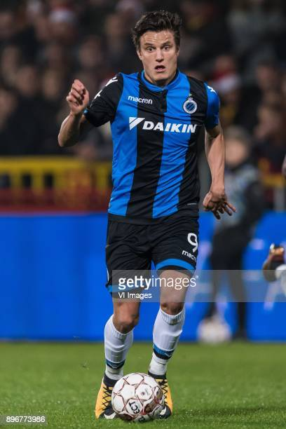 Jelle Vossen of Club Brugge during the Jupiler Pro League match between KV Mechelen and Club Brugge on December 20 2017 at the AFAS stadium in...