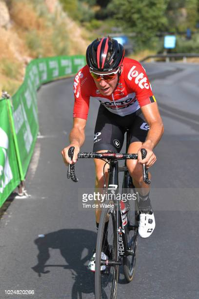 Jelle Wallays of Belgium and Team Lotto Soudal / during the 73rd Tour of Spain 2018 Stage 4 a 1614km stage from VelezMalaga to Alfacar Sierra de la...