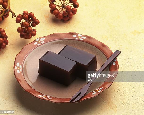 Jellied Bean Paste, High Angle View