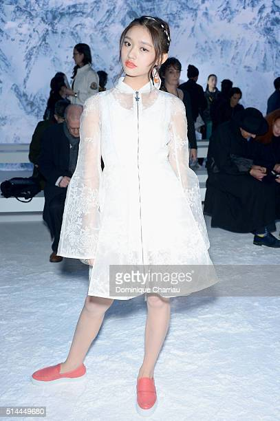 b3ea8c22ea65 Jelly Lin attends the Moncler Gamme Rouge show as part of the Paris Fashion  Week Womenswear