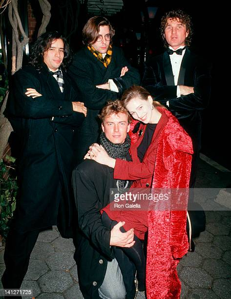 Jellybean Benetiz Judd Nelson guest Barry Tubb and Marla Hanson at the Opening Party for 'Sweet Sue' Tavern on the Green New York City