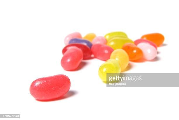 jellybeans - jelly beans stock photos and pictures