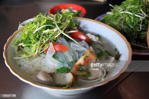 Jellyfish Noddle, Traditional Vietnam Food