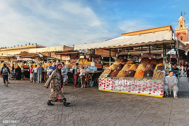 Jema el Fna di Marrakesh Marocco e Nord Africa