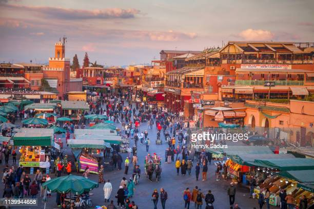 Jemaa el-Fnaa in Marrakesh