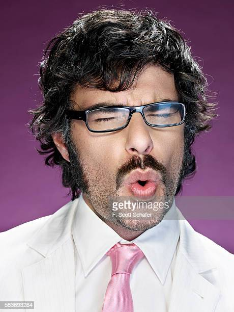 Jemaine Clement of Flight of the Conchords is photographed for Maxim Magazine in 2008 PUBLISHED IMAGE