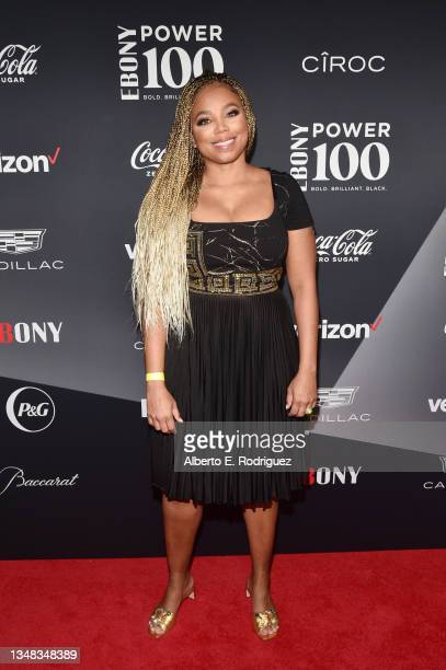 Jemele Hill attends the 2021 Ebony Power 100 Presented By Verizon at The Beverly Hilton on October 23, 2021 in Beverly Hills, California.