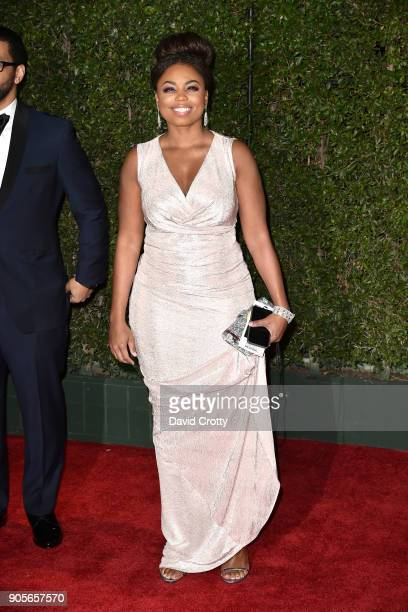 Jemele Hill attends the 49th NAACP Image Awards Arrivals at Pasadena Civic Auditorium on January 15 2018 in Pasadena California