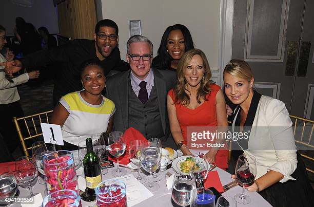 Jemele Hill Michael Smith Keith Olbermann Cari Champion Linda Cohn and Michelle Beadle attend the Paley Prize Gala honoring ESPN's 35th anniversary...
