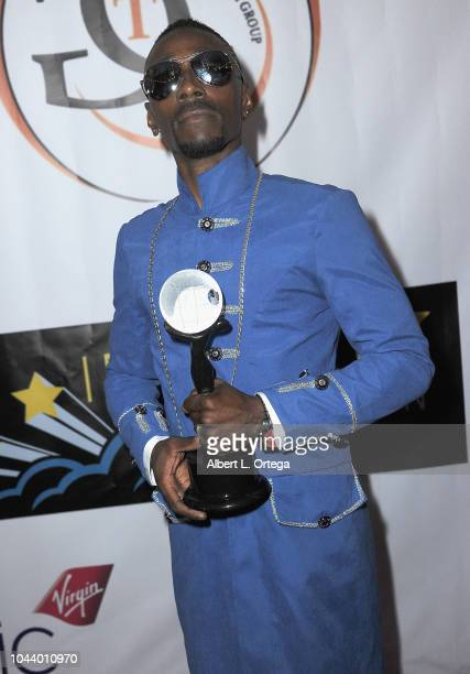 Jemell arrives for 2nd Annual HAPAwards held at Alex Theatre on September 30 2018 in Glendale California