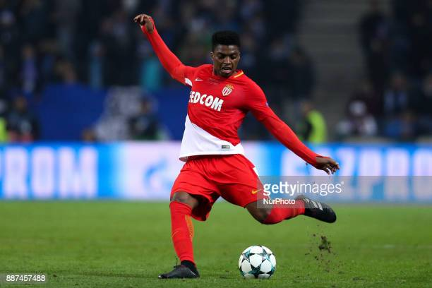 Jemerson defender of AS Monaco FC during the UEFA Champions League Group G match between FC Porto and AS Monaco FC at Dragao Stadium on December 6...