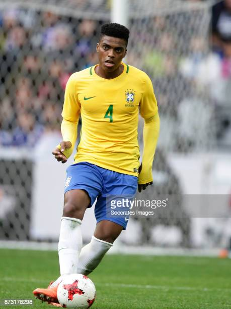 Jemerson of Brazil during the International Friendly match between Japan v Brazil at the Stade Pierre Mauroy on November 10 2017 in Lille France