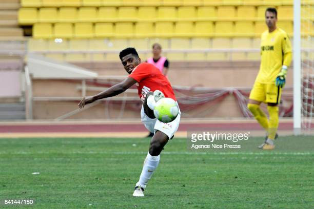 Jemerson of Monaco during the friendly match between As Monaco and Nimes Olympique at Stade Louis II on August 31 2017 in Monaco Monaco