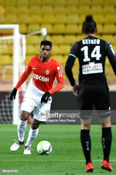 Jemerson of Monaco during the Ligue 1 match between AS Monaco and Angers SCO at Stade Louis II on December 2 2017 in Monaco