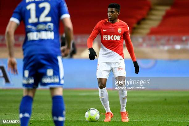 Jemerson of Monaco during the Ligue 1 match between AS Monaco and Troyes Estac at Stade Louis II on December 9 2017 in Monaco