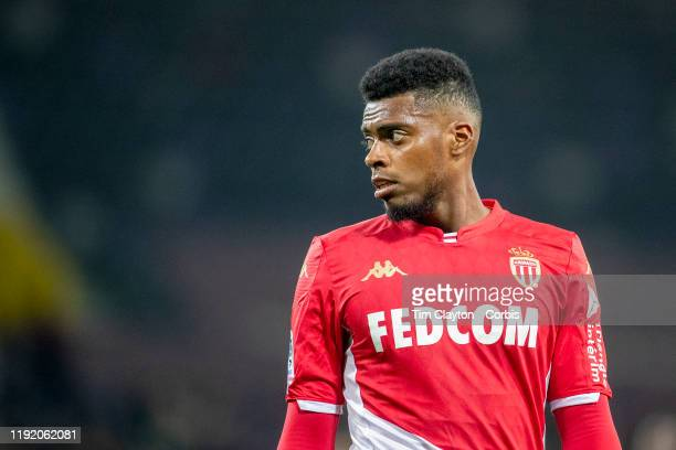 December 04: Jemerson of Monaco during the Toulouse FC V AS Monaco, French Ligue 1 regular season match at the Stadium Municipal de Toulouse on...